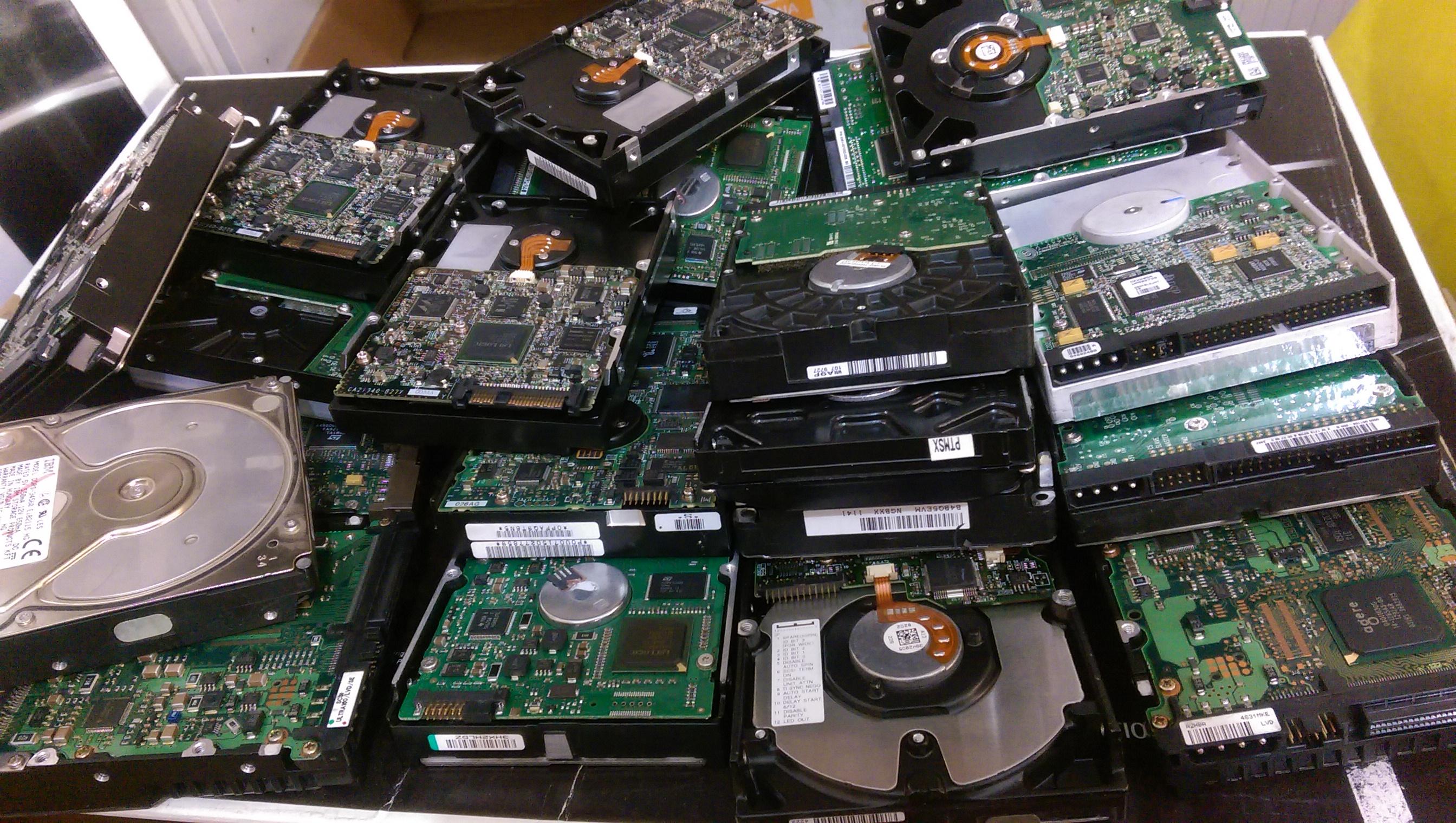 Konsumgut Festplatten
