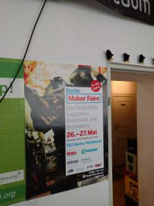 Maker Faire Berlin 2018 Poster